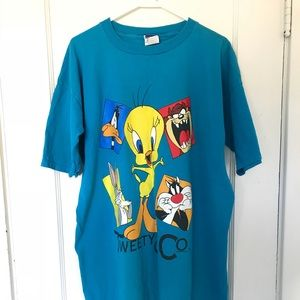 Tops - Vintage 90s Tweety Bird Shirt